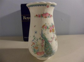 Royal Doulton Vase Indian Summer 6 in With Box Collectible 1989 - $19.79