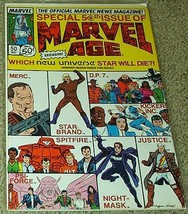 """Marvel Age """"Special 50th Issue"""" No 50 May 1987 The Official Marvel News ... - $7.99"""
