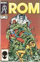 ROM: Spaceknight #58 September 1984 [Comic] by Bill Mantlo; Sal Buscema - $9.99
