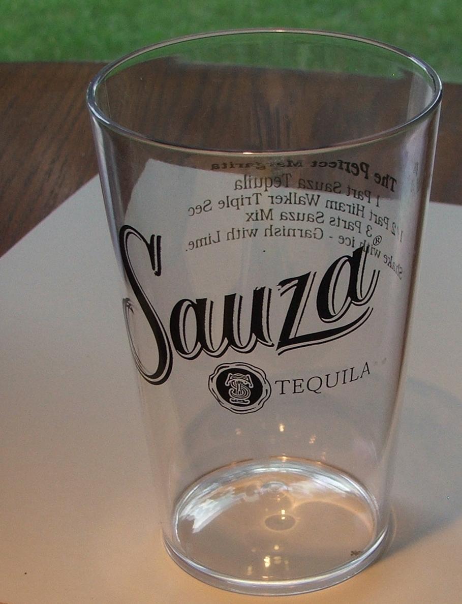 Sauza glass