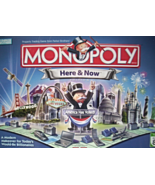 MONOPOLY HERE&NOW EDITION - $25.00