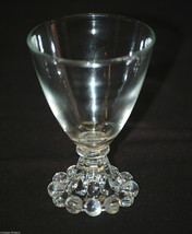 Old Vintage Boopie ~ Clear by Anchor Hocking Liquor Cocktail Glass 3-3/4... - $9.89