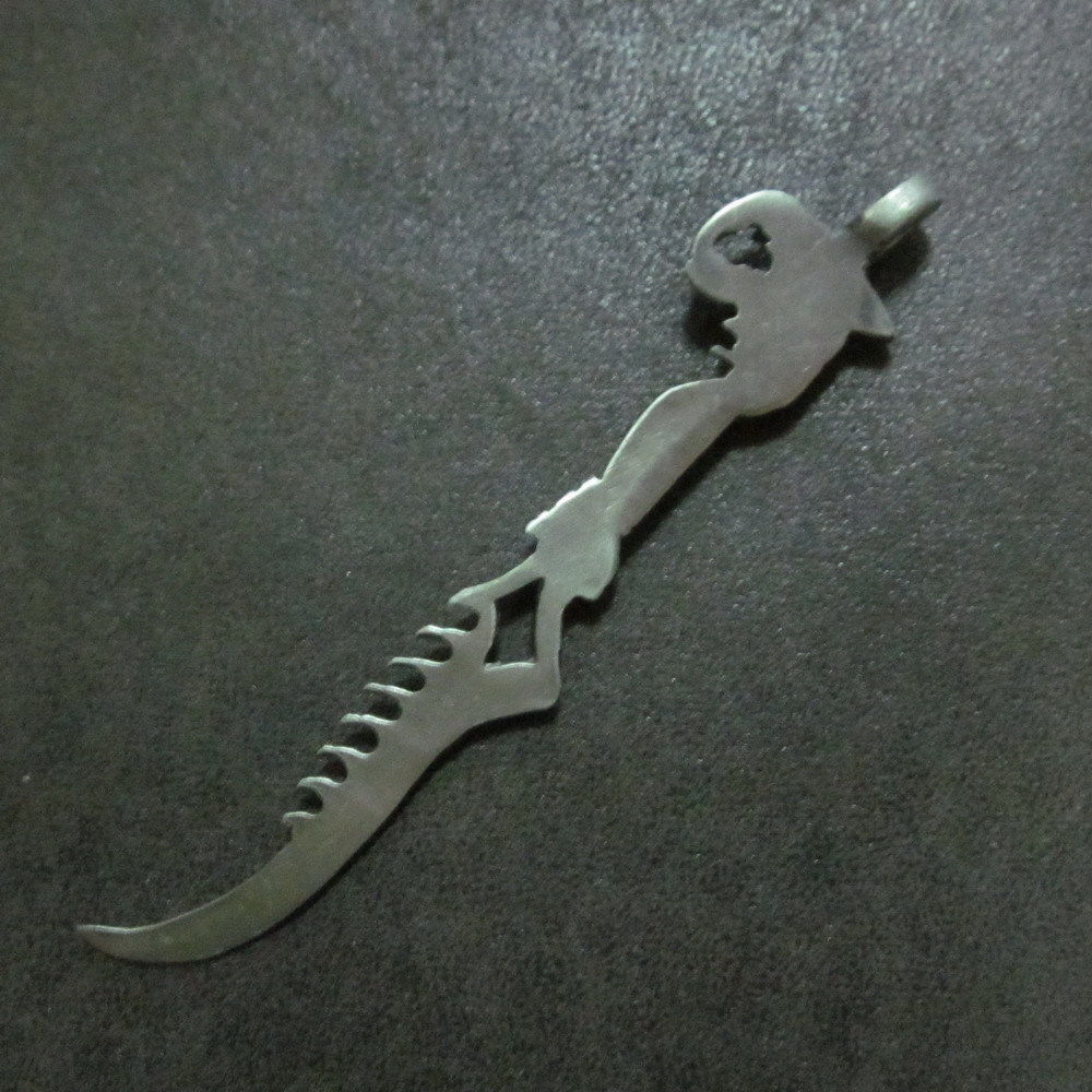 Fashion Mens Jewelry Pendants Sword Knife Legend Blade Myth Tales Theme Styles