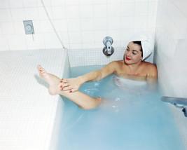 Esther Williams massaging ankle in bathtub head rap 8x10 Photo - $7.99