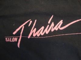 Vintage T'haira Salon Souvenir Black T Shirt Size M - £11.51 GBP