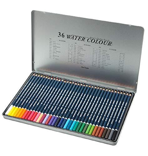 Munhwa Water Color Artist's Quality Pencils Drawing Set 36 Colors