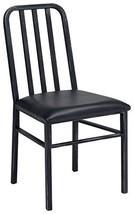 Acme Furniture 71997 Jodie Side Chair (Set Of 2), Black Pu & Antique Black - $455.19