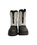 Polo Ralph Lauren Kid's Light Gray Insulated Boots, Size 4 NWOT - $37.50