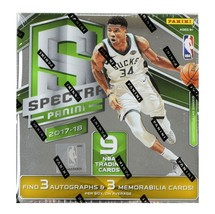 2017/18 PANINI SPECTRA NBA BASKETBALL HOBBY BOX (2017-18) - HOT! - $280.00