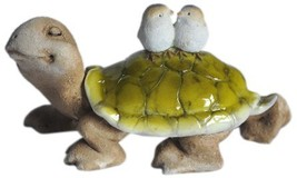 Top Collection Enchanted Story Fairy Garden Tortoise with Birds Outdoor ... - €10,50 EUR