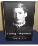 Nothing Is Impossible by Christopher Reeve Memoir - $10.00