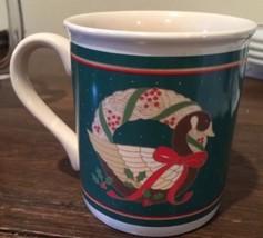 Hallmark Christmas Goose Coffee Mug, 1986 Awesome - $4.95
