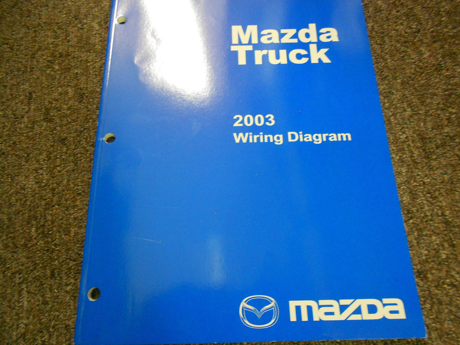 Primary image for 2003 Mazda Truck Electrical Wiring Diagram Service Repair Shop Manual FACTORY 03