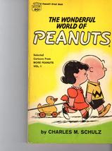 The Wonderful World of Peanuts  by Charles M. Shulz - $3.50