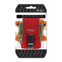 Shoulder Strap Neck Case Red fits Cricket Alcatel QuickFlip phone - $19.79