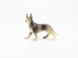 Miniature German Sheppard Puppy Dog  Figurine Décor Accent Piece Made in... - $17.82