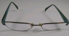 Kate Spade Eyeglass Frames Green And Tortoise Shell Full Frame - $18.55