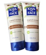 LOT OF 2 Kiss My Face Rich Kiss Deep Moisturizing Lotion 2 In 1 Tropical... - $20.78