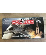 Monopoly US Air Force Edition Custom Pewter Tokens Missing 1 Token - $24.74