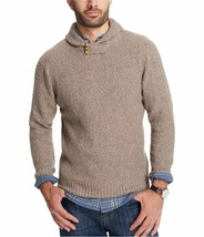 $80  Weatherproof Vintage Men's Shawl Sweater,Color: Beige Marl, Size:Small - $39.59