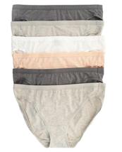 Felina 6 Pack Organic Cotton Stretch Bikini, Size: Large - $22.99