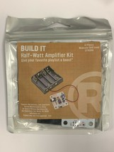 BUILD IT Half Watt Amplifier From RadioShack  DIY Kit #2770350 Free Ship... - $9.98