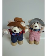 Mixed Lot Of 2 Vintage 1988 Furskins By Xavier Roberts Teddy Bear Plush ... - $9.85