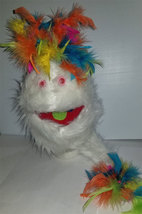 "B13* Professional White ""Furgremlin"" w/Rainbow Muppet Style Ventriloquis... - $15.00"