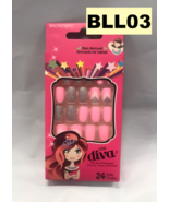 KISS BROADWAY LITTLE DIVA 24 NAILS # BLL03 MOM APPROVED PRESS ON NAILS - $4.90