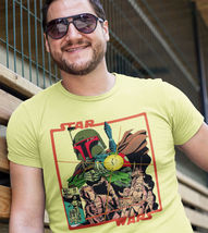 Star Wars comic book t-shirt 1977 original series Boba Fett graphic tee empire image 3