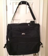 Bob Mackie Black Garment Travel Bag NEW w/ Hooks For Hangers And Storage... - $48.50