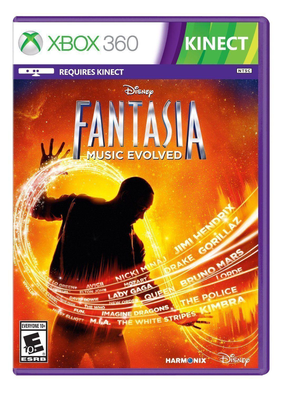 Disney Fantasia: Music Evolved (Microsoft Xbox 360 Video Game New)