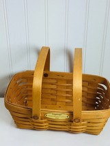 Vintage Longaberger Window Box Basket 24002 2000 - $49.49