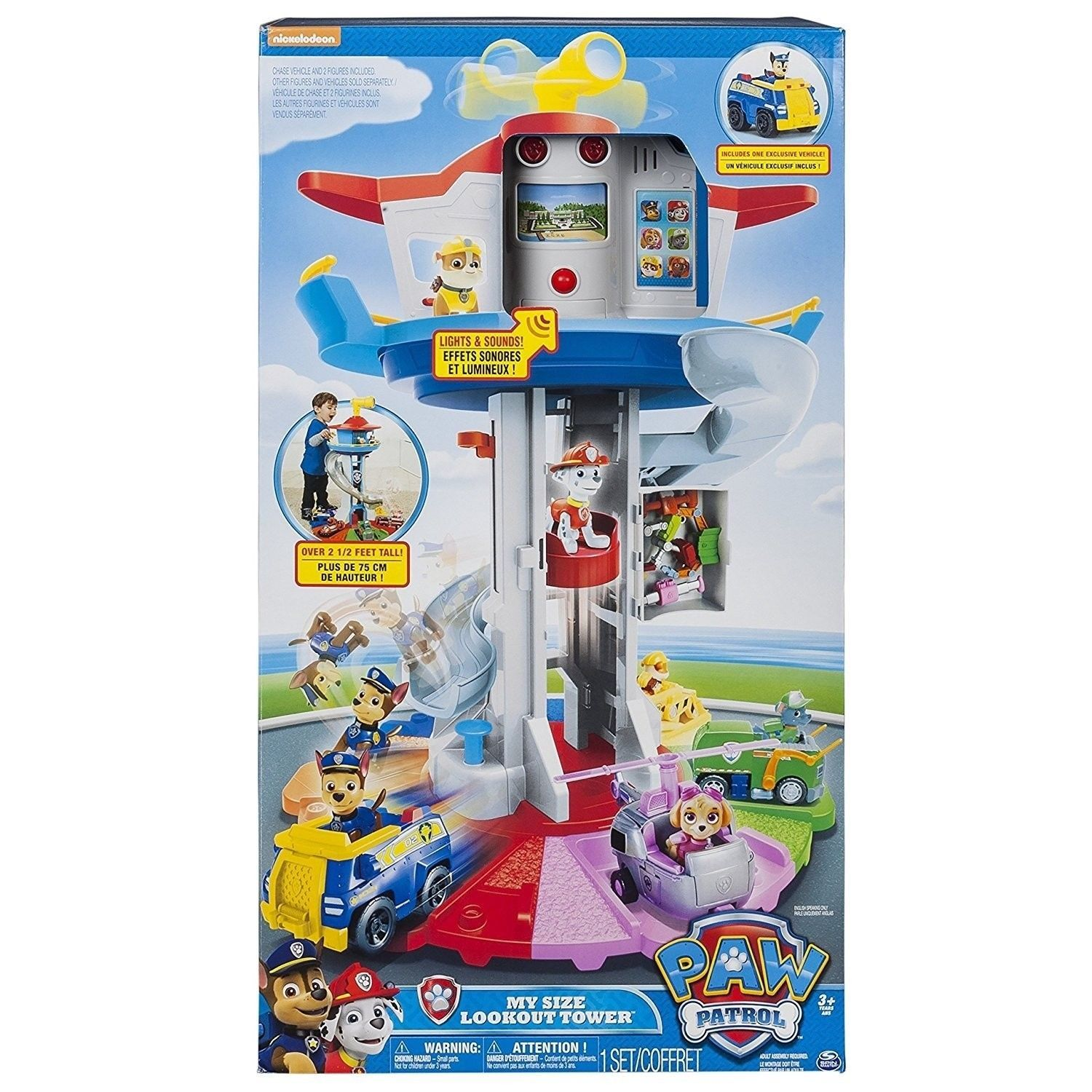 Paw Patrol – My Size Lookout Tower [New] Toy Set