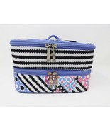 Modella Fashion Forever Double Zip Fully Lined Train Case - New - $19.99