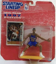 Kenner Starting Lineup 10th Year 1997 Edition # 20 New York Allan Houston Figure - $9.90
