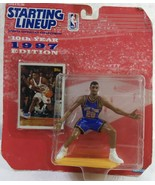 Kenner Starting Lineup 10th Year 1997 Edition # 20 New York Allan Housto... - $9.90