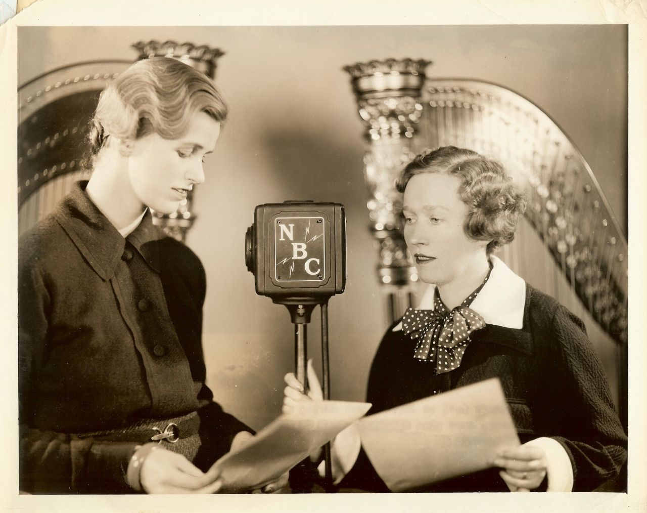 President Roosevelts Daughter Anna Old Radio Photo