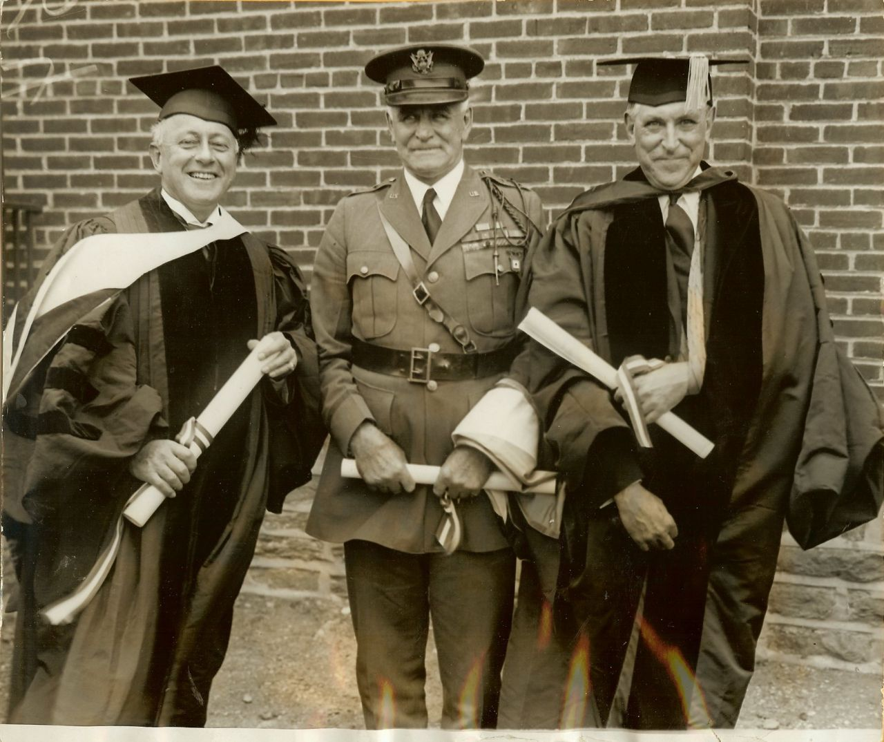 Vintage Cecil B. DeMILLE War HERO Hanson E. ELY Photo