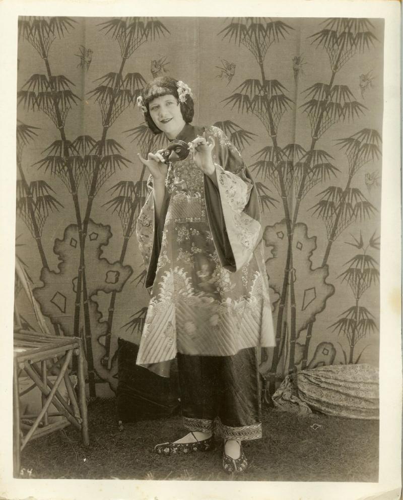 Vintage VAUDEVILLE THEATRE DW MASQUERADE PHOTO