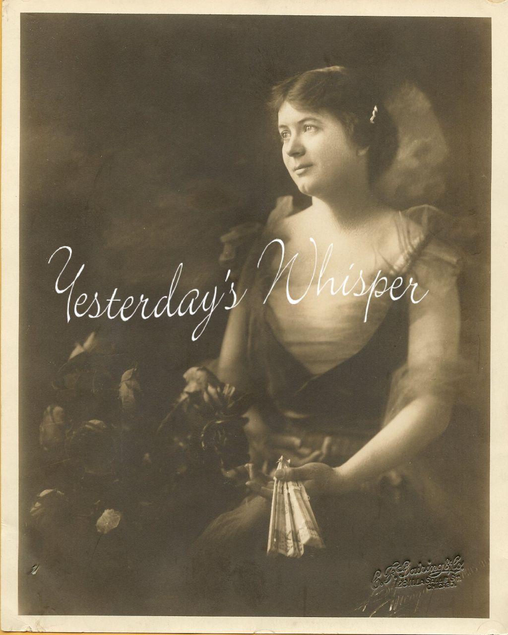 Frances DYER VAUDEVILLE DW ORG C.F. GAIRING & CO PHOTO