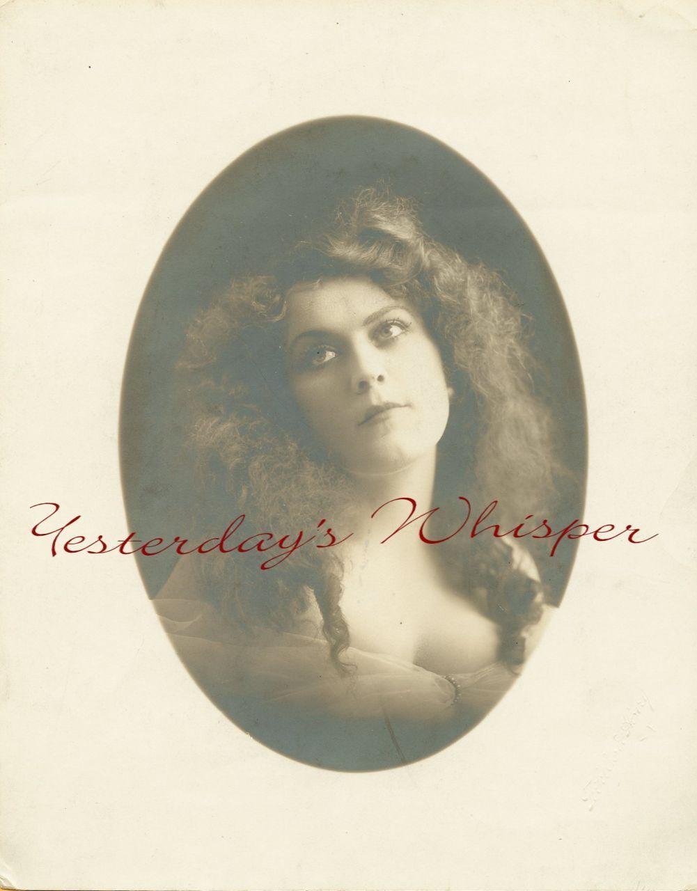 Irene BULGER Vaudeville Star ORG DW Portrait PHOTO H346