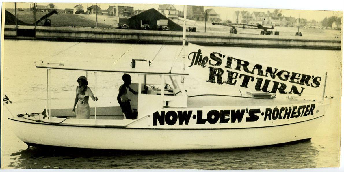 Loew's Rochester Advertising The Strangers Return Photo