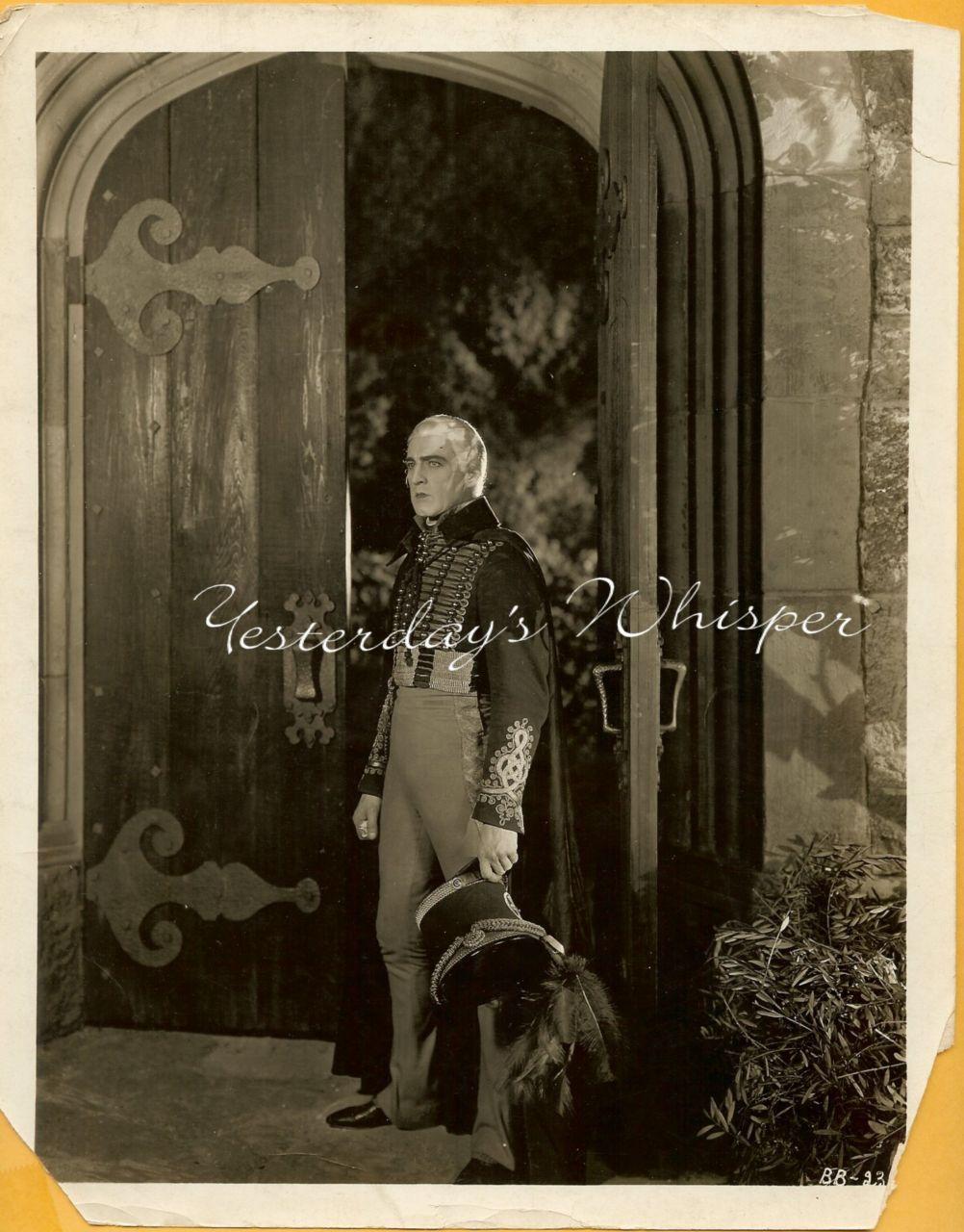 John Barrymore Beau Brummel Original 1924 Movie Photo