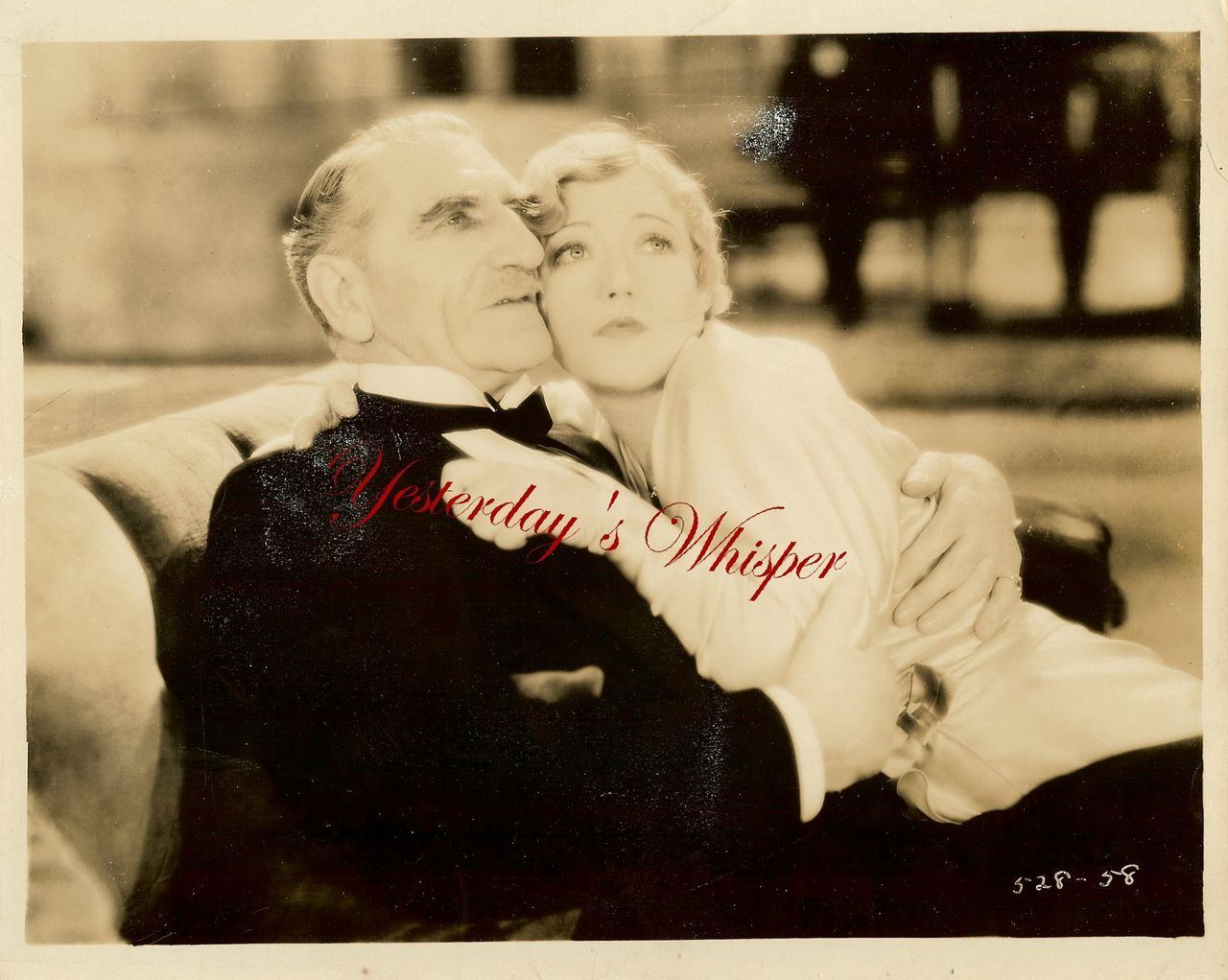 VINTAGE Marion Davies C. Aubrey Smith B&W Movie Photo