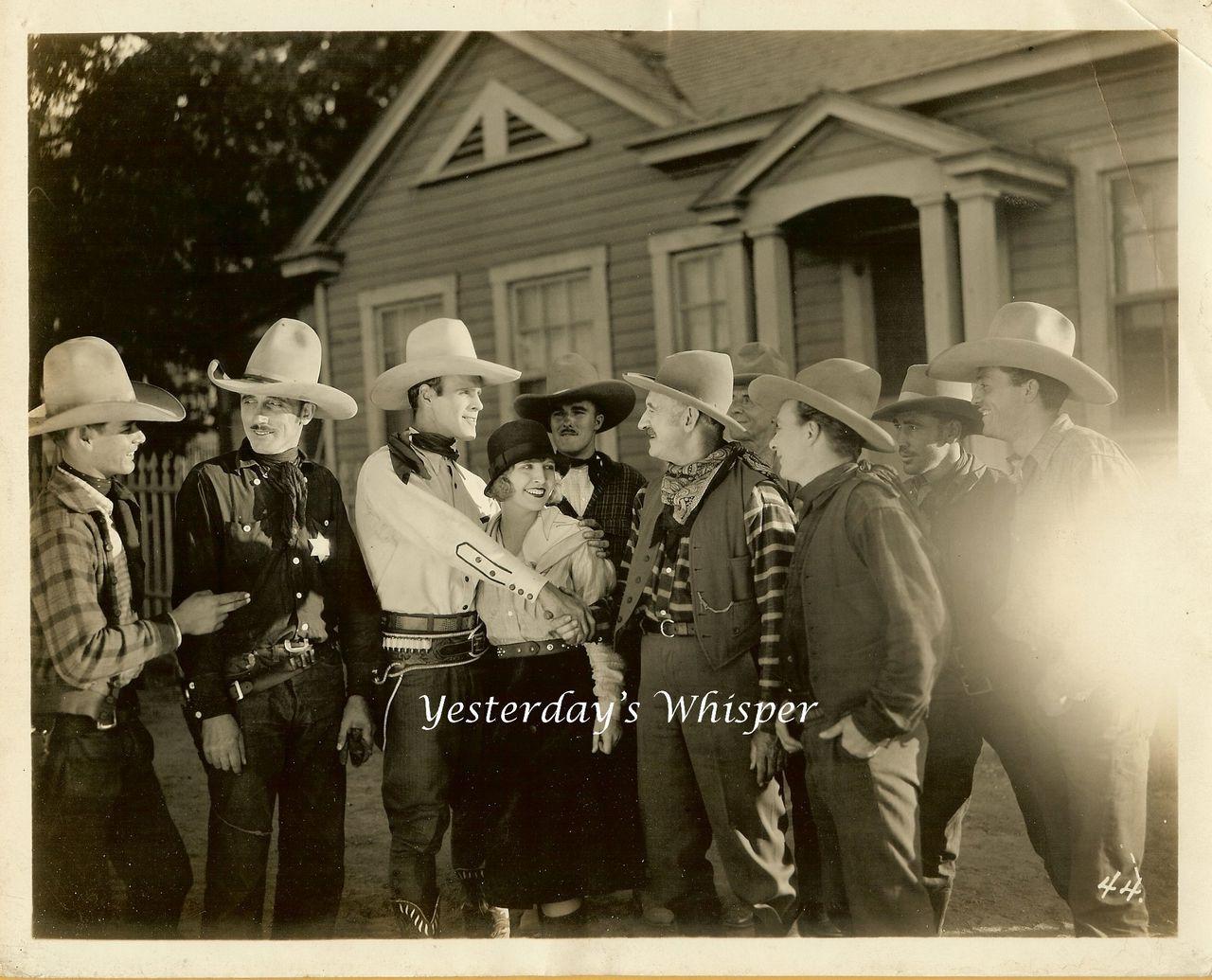 1927 Kermit MAYNARD Ruby BLAINE Wild Born Movie Photo M571