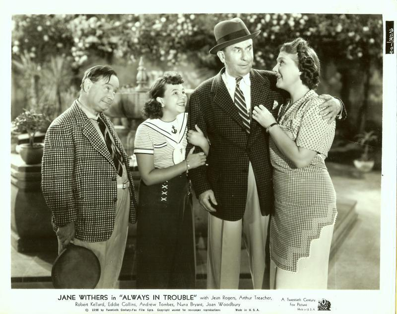 VINTAGE Jane Withers ALWAYS IN TROUBLE Movie Photos