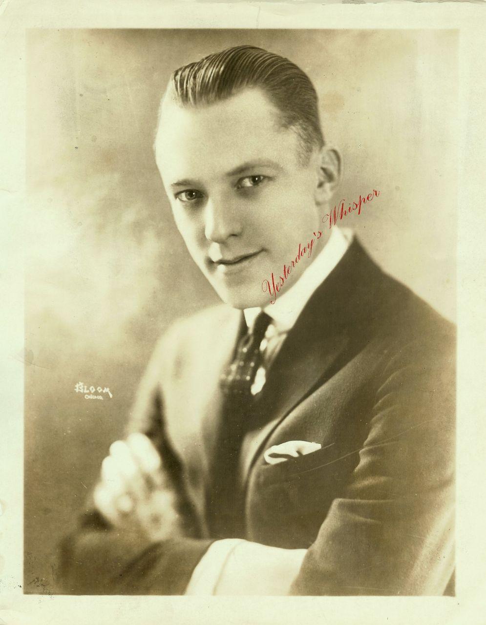 SUNKIST Eddie NELSON ORG c.1925 BLOOM PHOTO F766