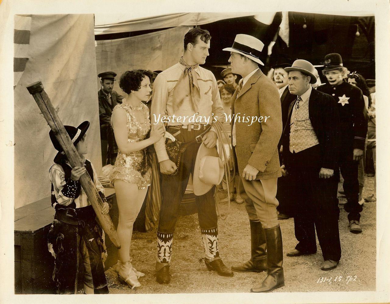 Francis X. BUSHMAN Leggy Alberta VAUGHN Circus Photo