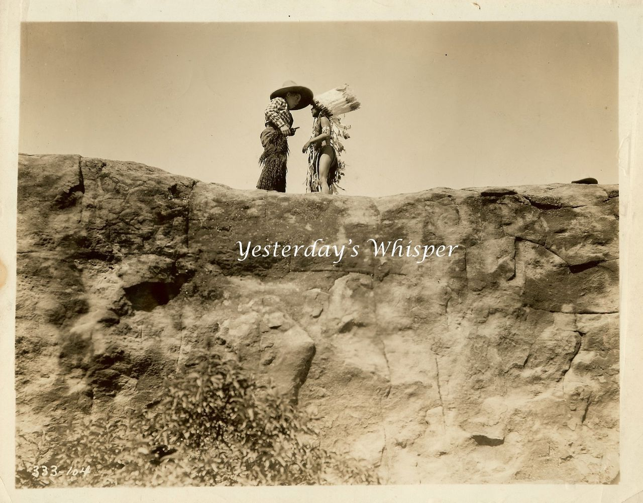 Wyoming 1928 Silent Era Western Original 8x10 B&W Photo